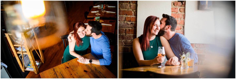 Engagement photos taken with a Nikon Z6 and Tamron 35mm 1.4