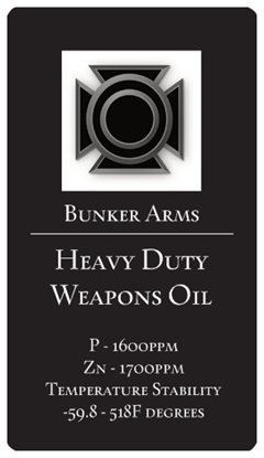 Heavy Duty Weapons Oil