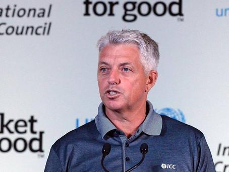 Over-50s World Cup Ambassador - Dave Richardson