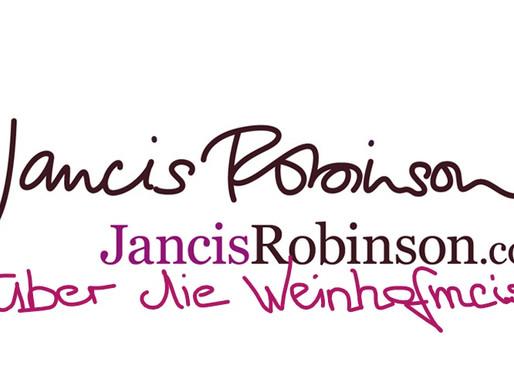 """""""some of the most inspiring ranges"""" Höchstbewertungen von Jancis Robinson für die Weinhofmeisterei"""