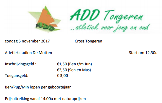 LCC Cross Tongeren | ADD Kortessem Atletiek