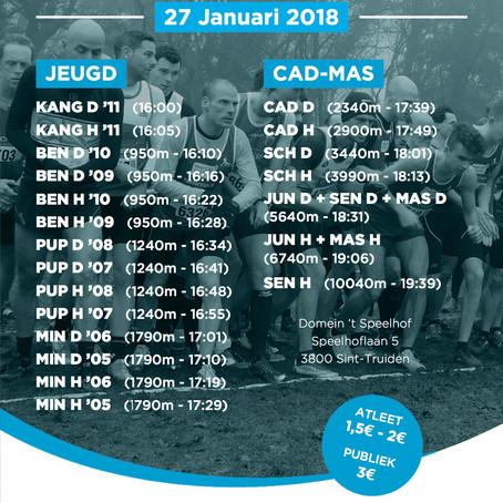 LCC veldloop Sint-Truiden 27/01/2018