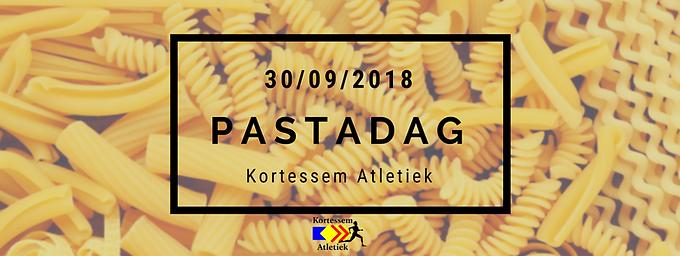 Herinnering Pastadag 30 september