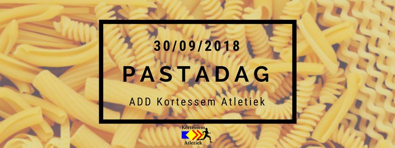 Pastadag | ADD Kortessem Atletiek