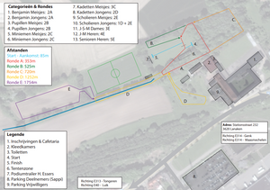 Parcours LCC Lanaken ATLA | ADD Kortessem Atletiek