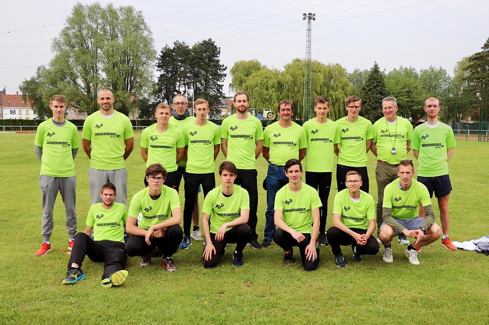 Beker van Vlaanderen alle categorieën heren in Kortrijk