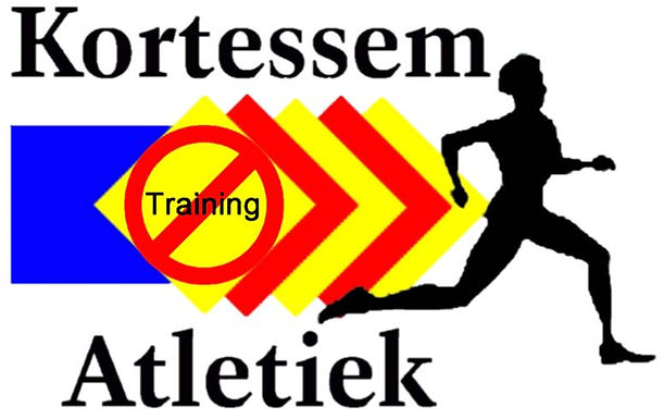 Geen training op maandag 16 mei
