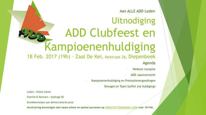 ADD-kampioenenhulde 18 februari