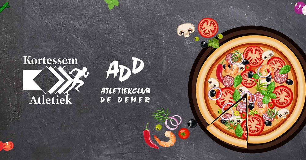 Banner pizzaverkoop ADD Kortessem