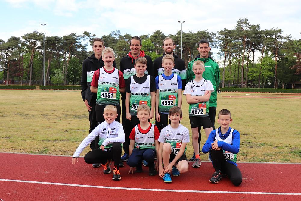 Beker van Vlaanderen pupillen & miniemen jongens in Lommel