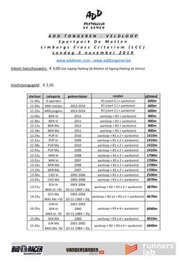 LCC Tongeren 03/11