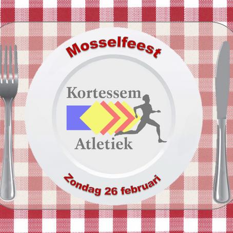 Mosselfeest 26 februari 2017