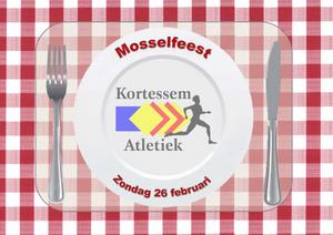Mosselfeest Kortessem Atletiek 26 februari 2017