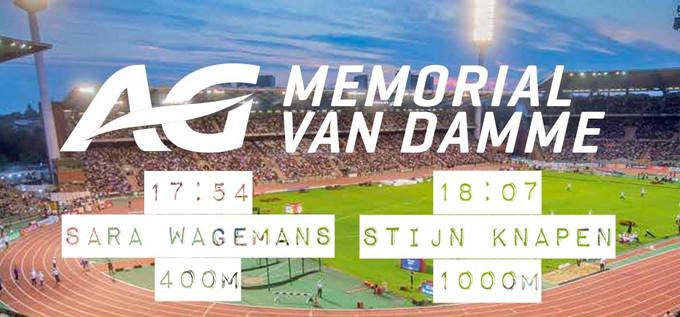 Stijn & Sara op Memorial van Damme