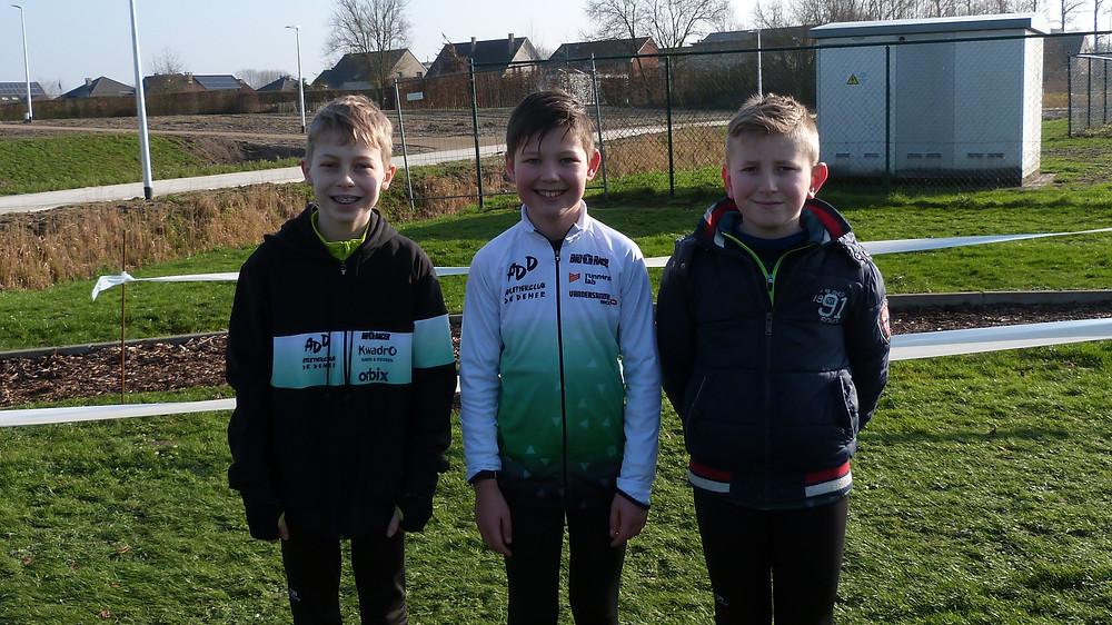 Kjelle, Andreas & Jente | ADD Kortessem Atletiek