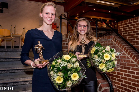 Uitreiking PC Limburg atletiek: Aude & Manuela