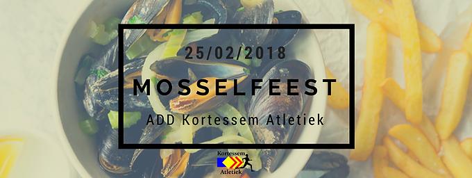 Mosselfeest 25 februari 2018