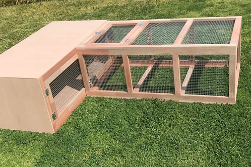 Brooder Box Run