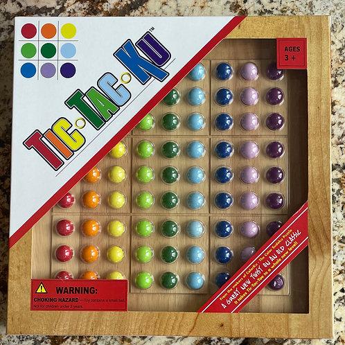 ColorKu in  a Tic-Tac-Ku Box