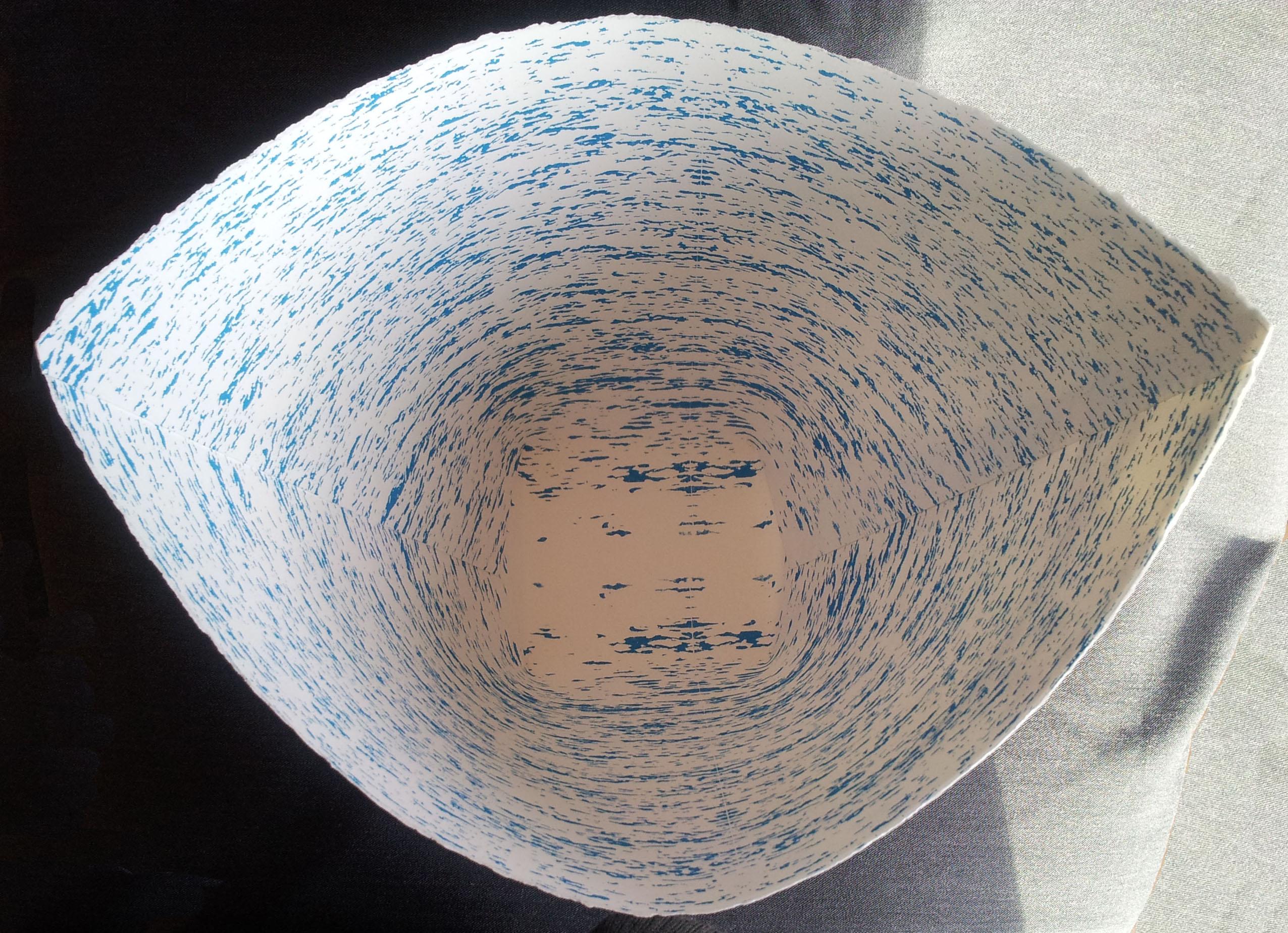 Interior of Birchbark/water Basket