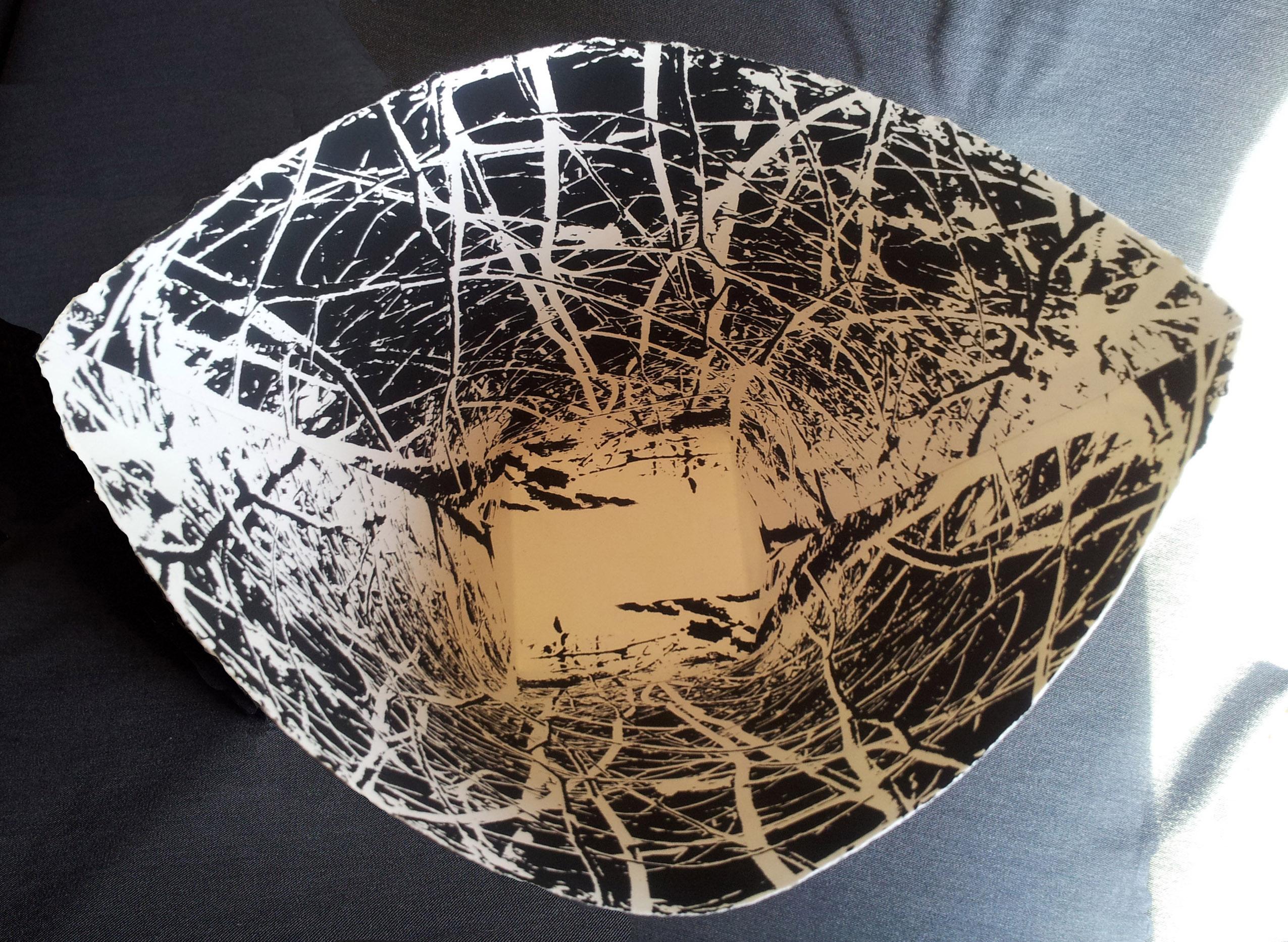 Interior of Cottonwood/Nest Basket