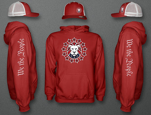 Patriot Party Hoodie and Hat COMBO