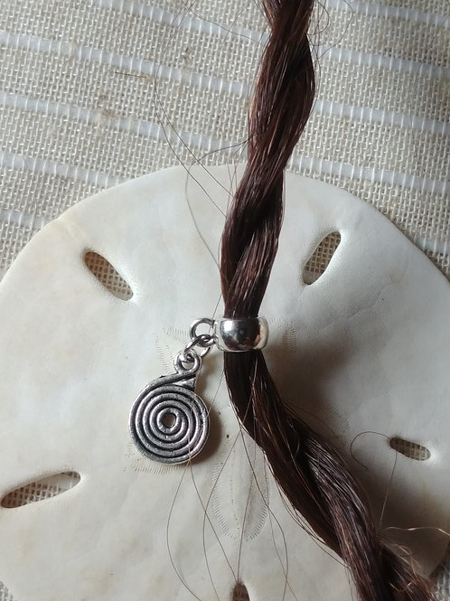 Spiral Hair Bead