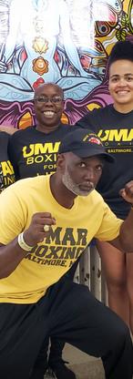 BYC Yogis at UMAR Boxing Gym in Baltimore.