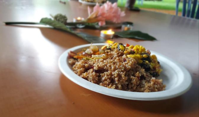 Vegetarian Cusine Preapred by Private Chefs