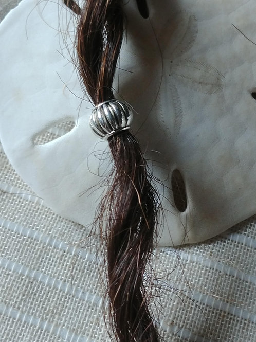 Silver Tone Tibetan Style Bead