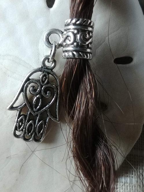 Hamsa Hair Bead