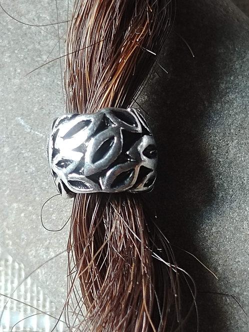 European Leaf Hair Bead