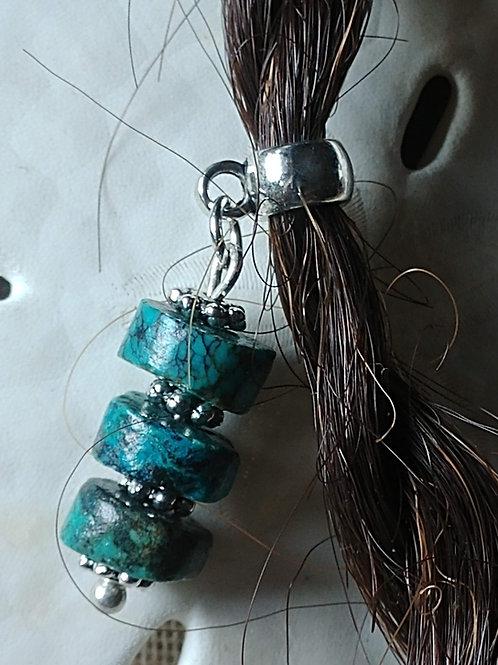 Turquoise Hair Bead
