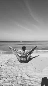 Daily Yoga on Beach