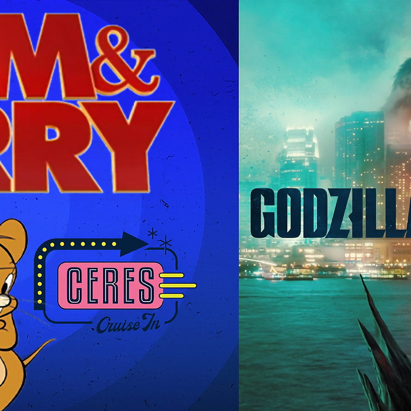 DOUBLE-FEATURE: Tom&Jerry + Godzilla Vs Kong