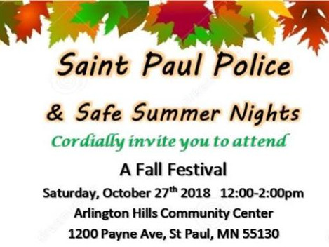 SPPD - Fall Festival