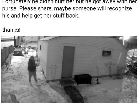 Local Crime: Interrupting a Burglarly In Progress