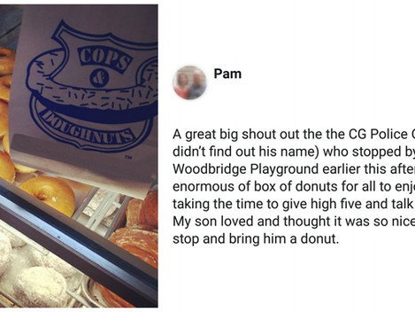 Donuts & High-Fives!