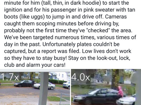 Local Crime: It happened so fast