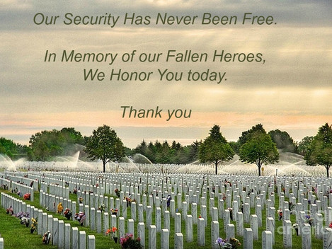 #Memorial Day - Thank you to our bravest
