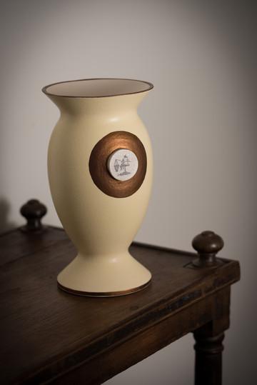 Lambeth Fisherman Vase