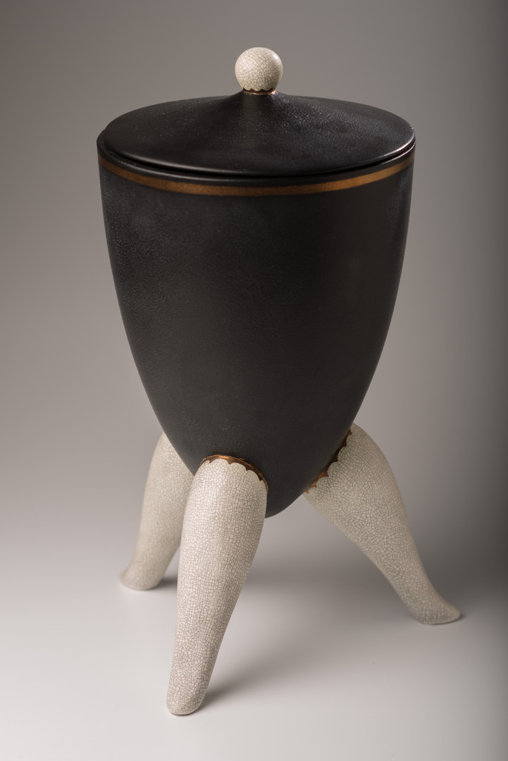 Three legged Urn