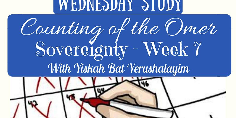 SOVEREIGNTY Week 7 @ Yiskah Bat Yerushalayim's YouTube Channel