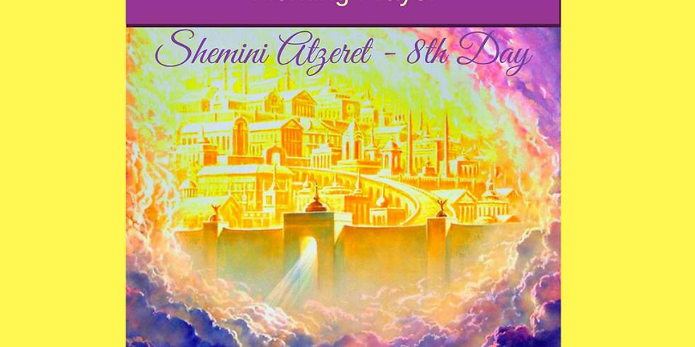 LIVE Shemini Atzeret Morning Prayer