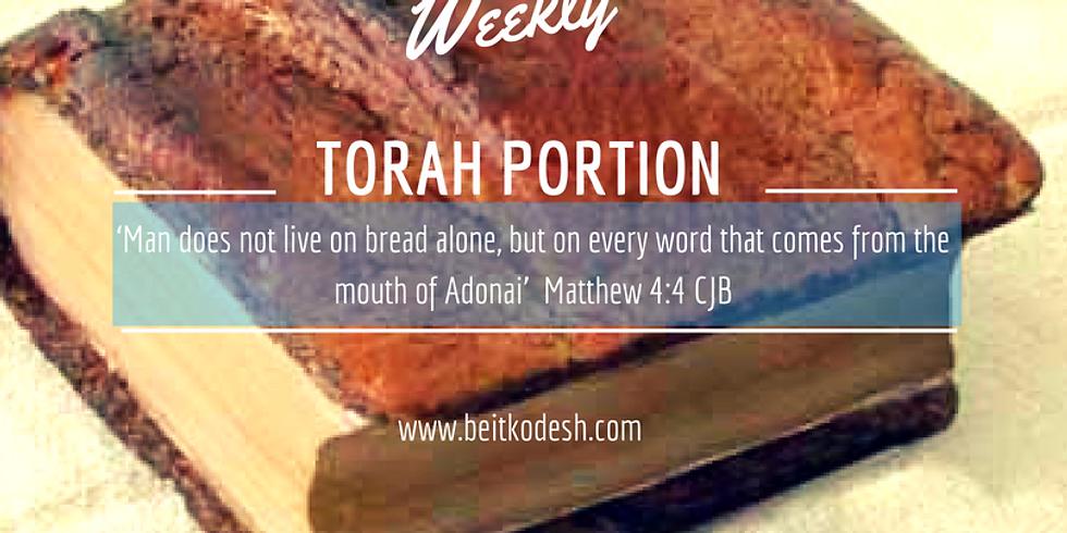 LIVE Weekly Torah Portions Ki Tavo - 1st September 2018
