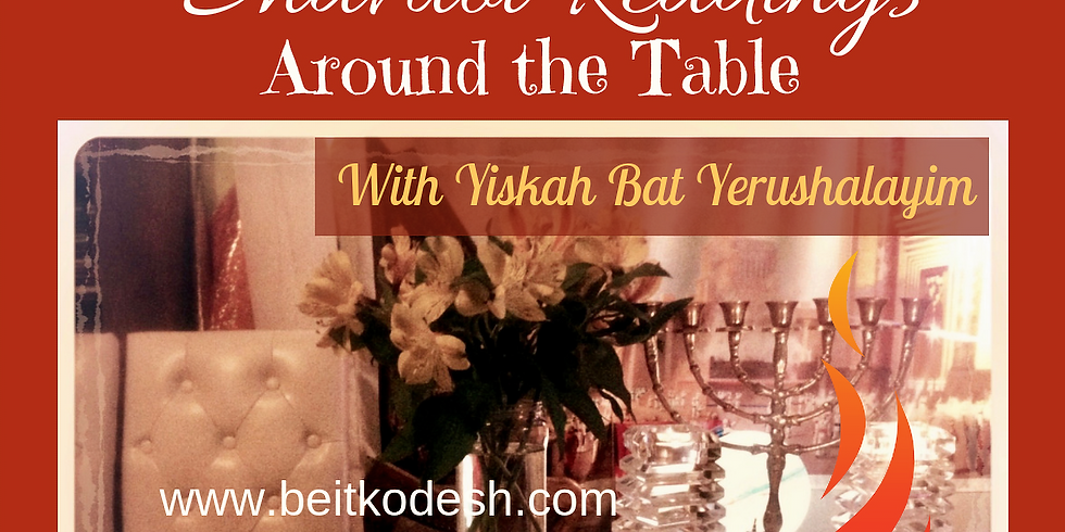Shavuot Pentecost Readings  @ Yiskah Bat Yerushalayim's YouTube Channel