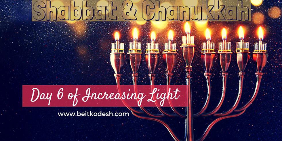 Erev Shabbat & Chanukkah Day 6 LIVE @ Yiskah Bat Yerushalayim's YouTube Channel