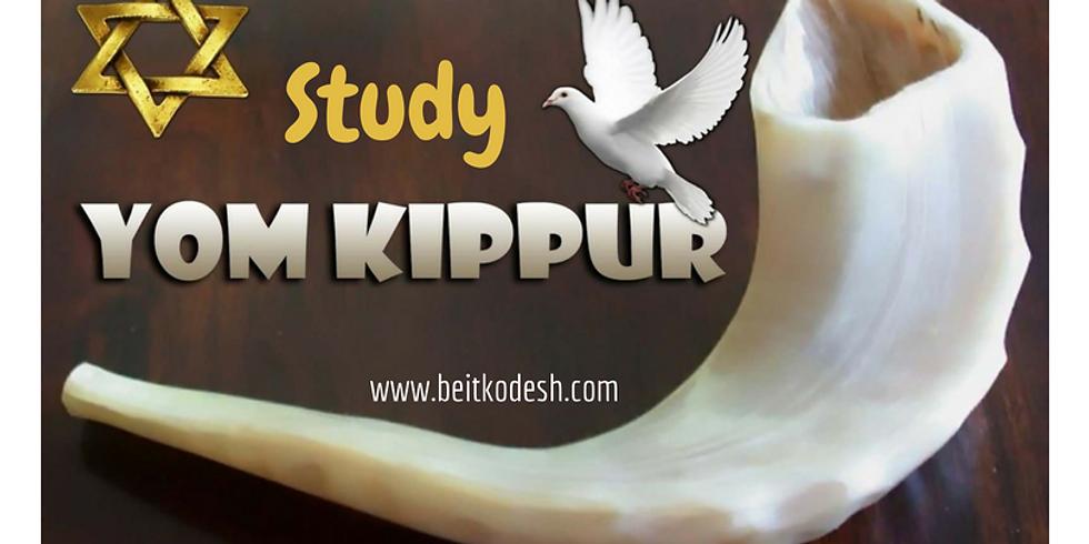 LIVE Yom Kippur Study - 29th August 2018