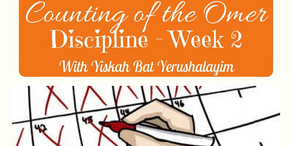 (NOT LIVE) DISCIPLINE - Week 2
