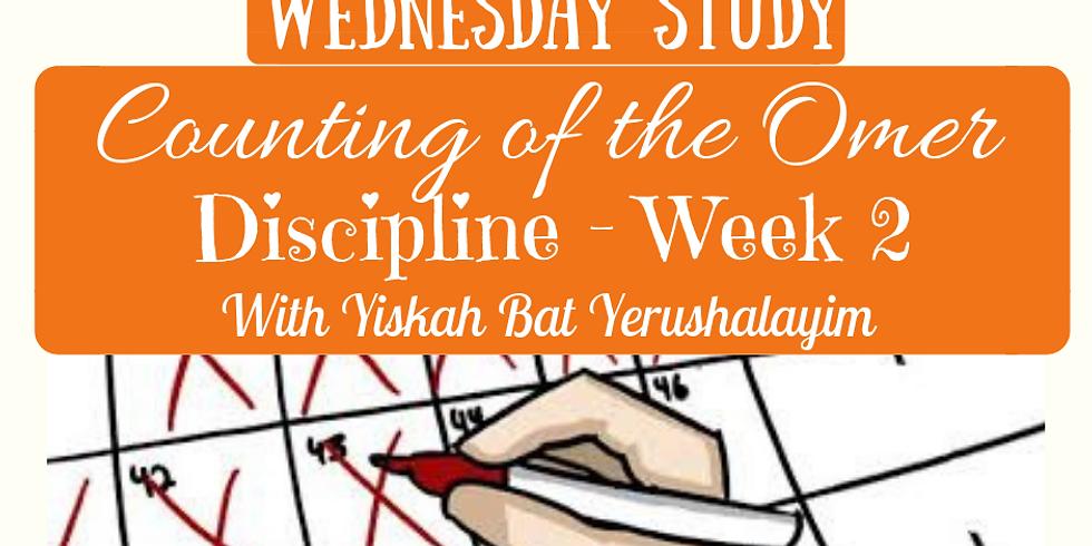 DISCIPLINE Week 2 SUMMARY @ Yiskah Bat Yerushalayim's YouTube Channel